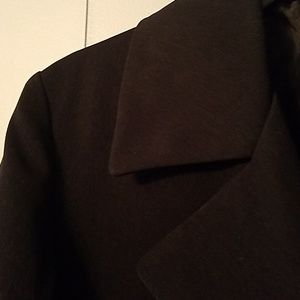 Utex Jackets & Coats - Utex Design black long jacket